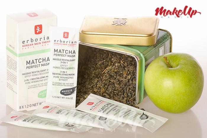 """Маска """"Совершенное утро"""" Зеленый чай Matcha Erborian отзыв"""